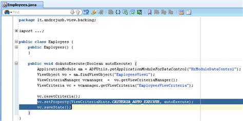 reset parameter video ps3 andrejus baranovskis blog view criteria and criteria auto
