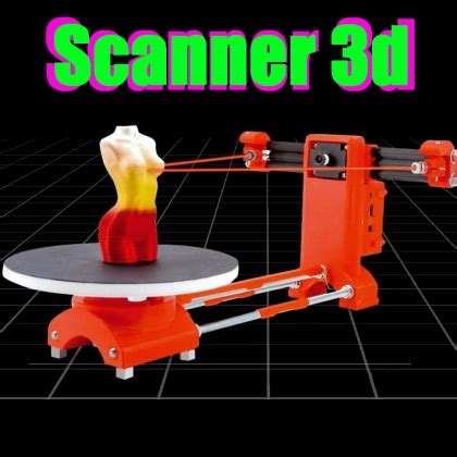 an open source 3d scanner made with raspberry pi | open