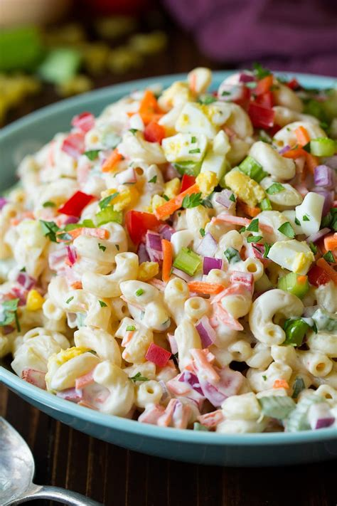 macaroni salad classic macaroni salad easy go to side dish cooking