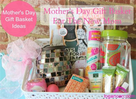 s day gift basket ideas s day gift basket for the new logan can