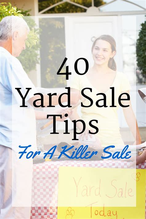 Garage Sale Tips by Top 40 Ultimate Yard Sale Tips House Of Hawthornes