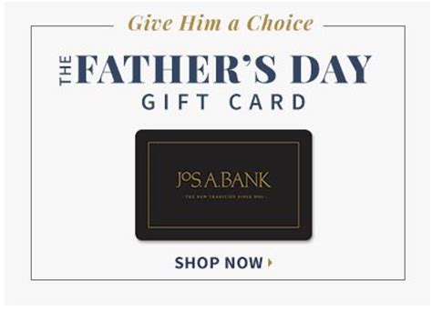 Joseph A Banks Gift Card - shop menswear from the expert in men s apparel jos a bank