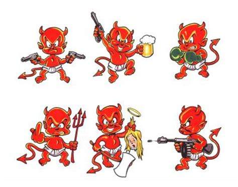 little devil tattoo designs designs