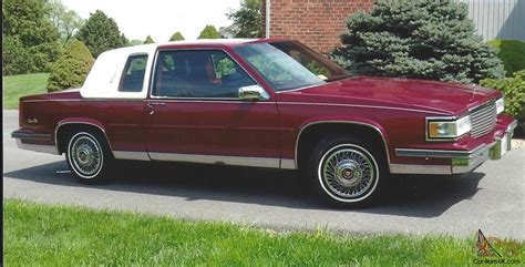 1988 Cadillac Coupe by 1988 Cadillac Base Coupe 2 Door 4 5l