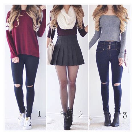 Cute Winter Outfits For High School