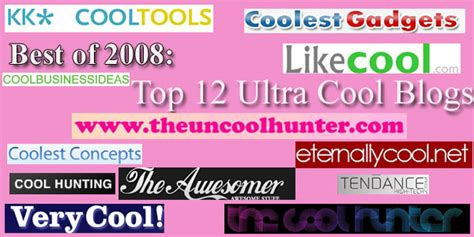 New And Cool Blogs by Best Of 2008 Top 12 Ultra Cool Blogs