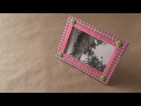 como hacer portaretratos de carton portarretratos ecologico dia de los enamorados youtube