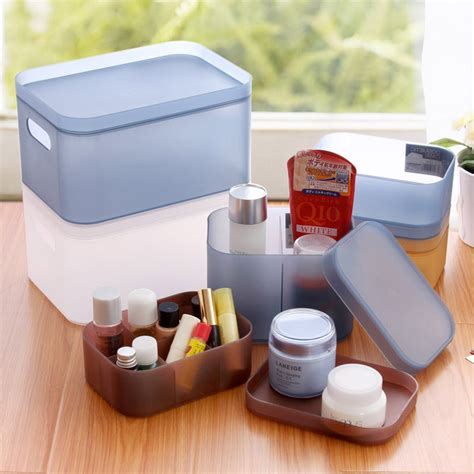 plastic storage containers for makeup high quality plastic storage box makeup organizer cosmetic