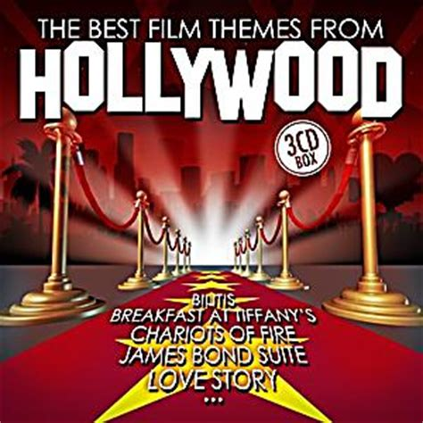 best themes in film the best film themes from hollywood cd von various