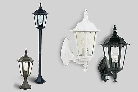 Outdoor Lighting Collections Mains Powered Lights B Q Outdoor Light