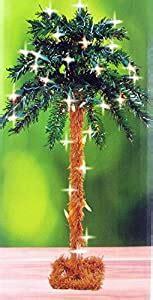 amazoncom  lighted palm tree artificial  lights