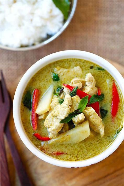 thai green curry recipe dishmaps