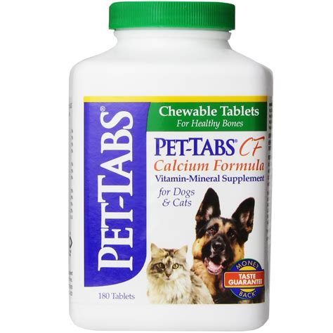 calcium for dogs pet tabs calcium supplement for dogs and cats