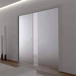 Glass Sliding Doors Eclisse Glass Sliding Pocket Door System Door Kit Supplied With Glass Doors 100mm