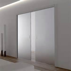 Eclisse glass sliding pocket door system double door kit supplied
