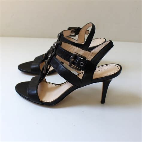 high heels coach 90 coach shoes coach robin high heel strappy