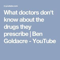 ben goldacre what doctors dont know about the drugs they male and female brain functional differences detox