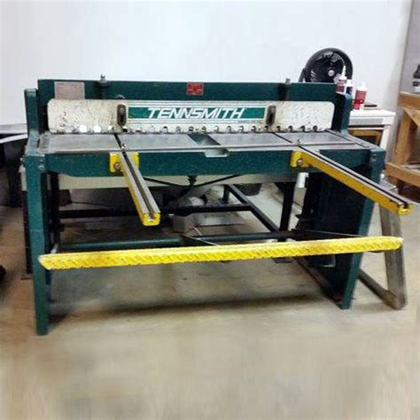 52 inches in feet tennsmith 52 inch 16 gauge stomp shear jorgenson machine