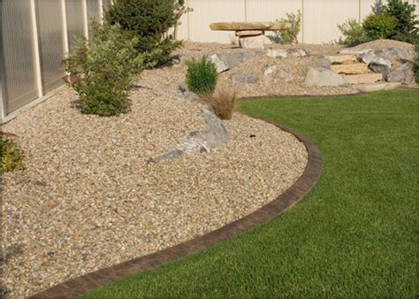 backyard gravel landscaping gravel and stone traditional landscape dc metro by