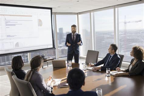 secrets to a knockout business presentation