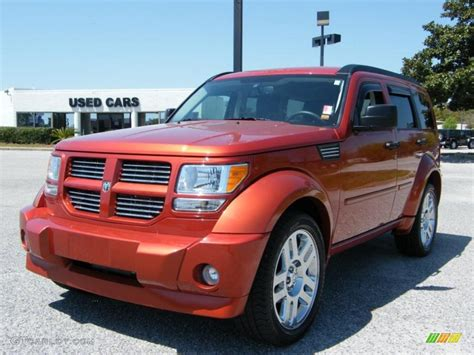 2008 sunburst orange pearl dodge nitro r t 27804697 gtcarlot car color galleries