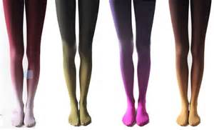 color tights gradient color velvet tights purple five colors