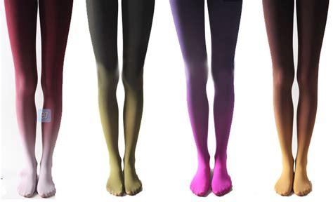 color tights gradient color velvet tights purple five colors
