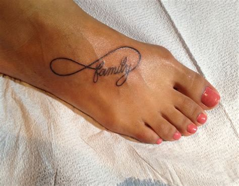 family tattoo foot foot tattoo images designs