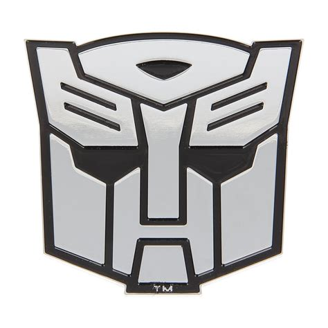 Sticker Transformer Autobot T001 transformers emblem for car autobot stick on chrome transformer emblem decal ebay