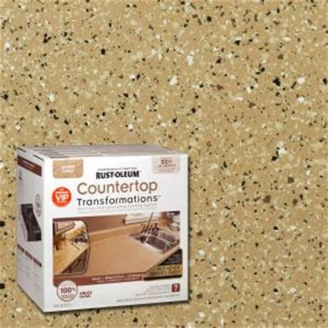 Rust Oleum Countertop Transformations Pebbled Ivory by Rust Oleum Transformations 70 Oz Desert Sand Large