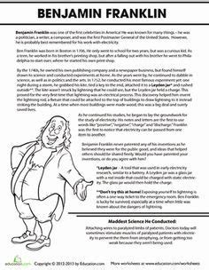 benjamin franklin biography poem statue of liberty printable activities all these