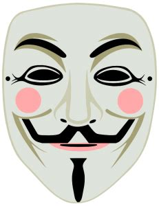 fawkes clipart fawkes mask anonymous color clip