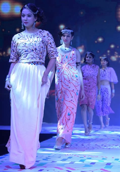 themes list for fashion show ocean of feelings expressed by designers at fashion show