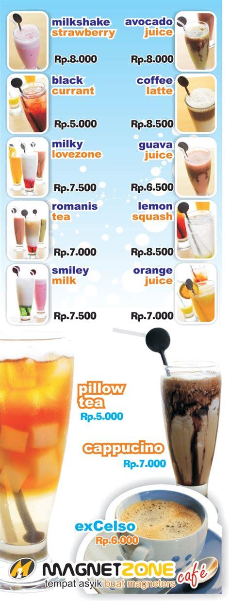 Desain Banner Minuman | kreativa desain banner menu minuman magnetcafe