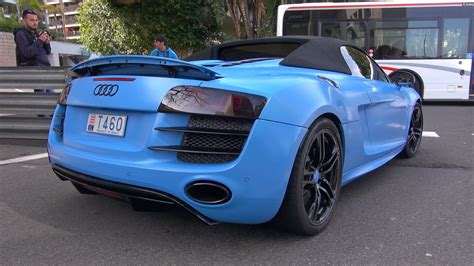 Audi R8 Sound by Best Of Audi R8 Sounds In Monaco