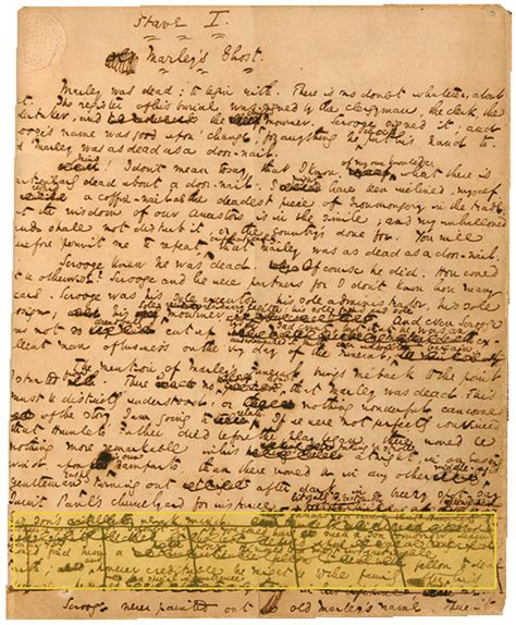 Charles Dickens Essay by The Handwriting Of Charles Dickens The Wire
