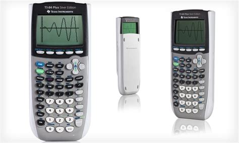 ti 84 plus silver edition texas instruments refurbished texas instruments calculator groupon goods