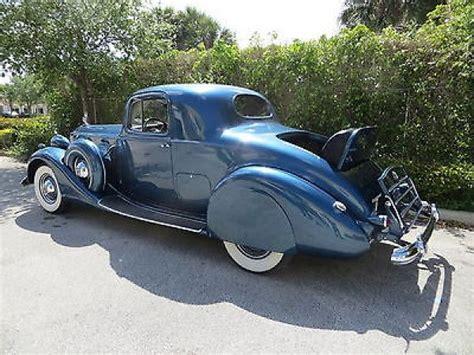 Bodypack Ramble 1 0 Blue packard dual side 1937 pristine driver clean car regatta