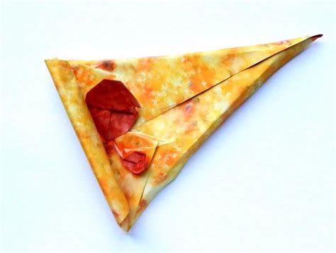 Origami Pizza - origami pizza 28 images pizza for chewie origami yoda