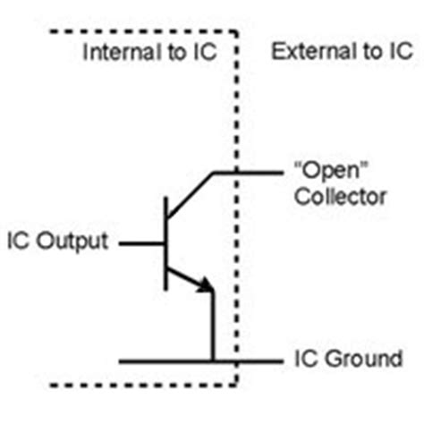 pull up resistor open collector output what of output pulse is generated from liqui view