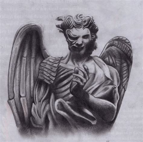 angel and demon tattoo drawings angels vs demons quotes quotesgram