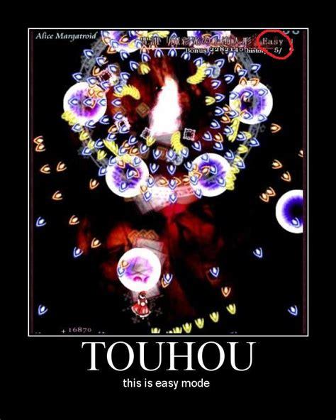 Touhou Memes - touhou gameplay