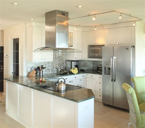 Free Standing Range Hood Kitchen Beach With Ceiling Kitchen Peninsula Lighting