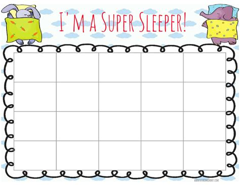 printable behavior stickers bedtime reward chart when a child won t stay in bed