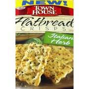 town house crackers keebler town house crackers flatbread crisps italian herb calories nutrition