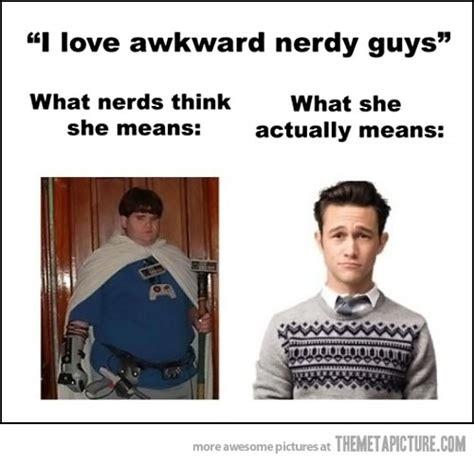 Nerdy Kid With Braces Meme - awkward nerdy guys the meta picture