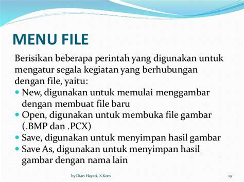 sebutkan beberapa format file gambar bitmap 2 3 fungsi dan cara kerja perangkat lunak aplikasi
