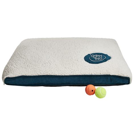 sherpa dog bed happy tails sherpa and corduroy dog bed large 36x27