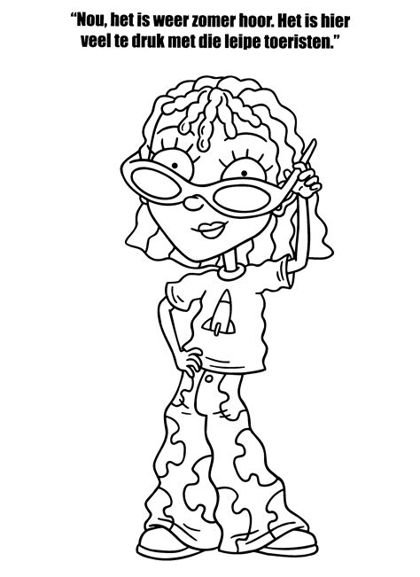 Rocket Power Coloring Pages Rocket Power Coloring Pages