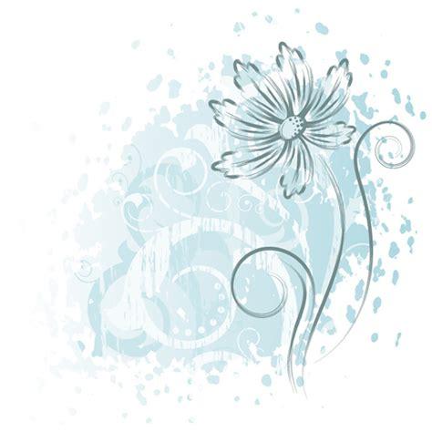 subtle floral grunge background welovesolo